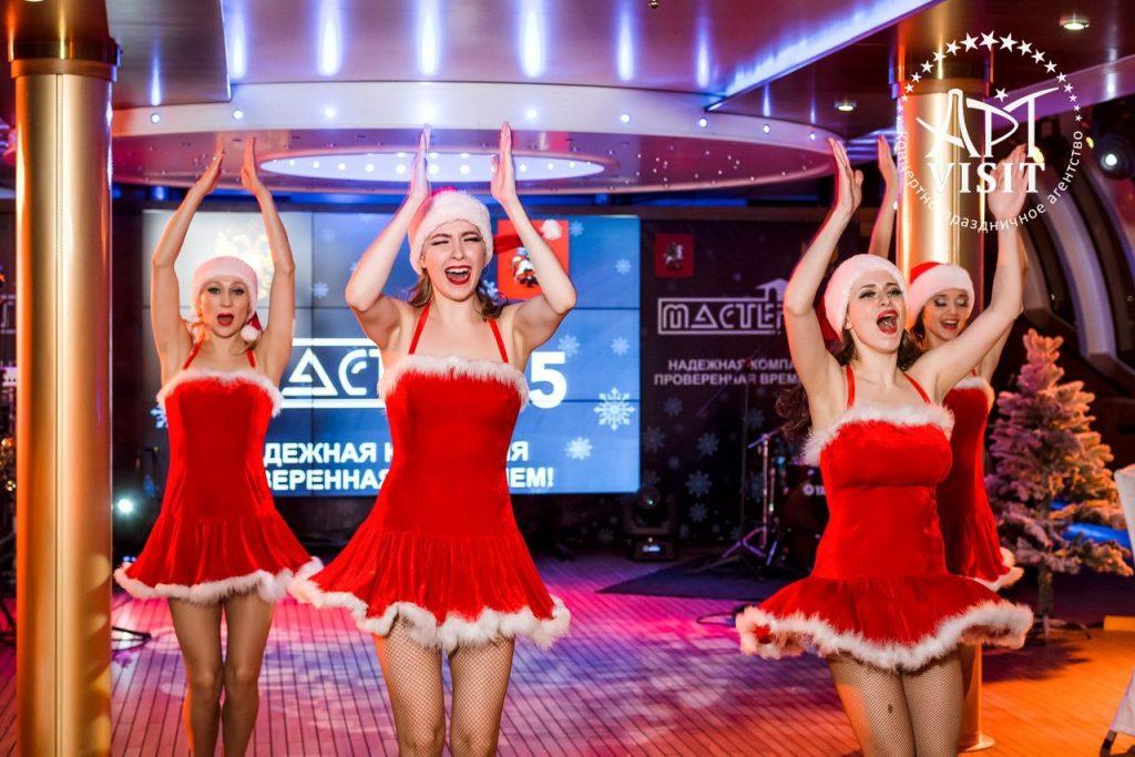 Event агентство АРТВИЗИТ - новогодний корпоратив